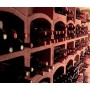 Стеллаж для вина, блок Mini (красная глина)