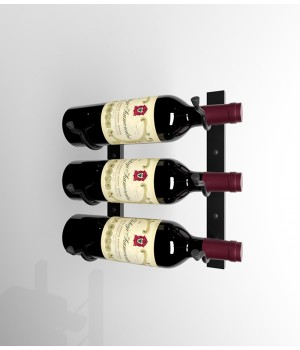 Винный стеллаж для хранения 3 бутылок